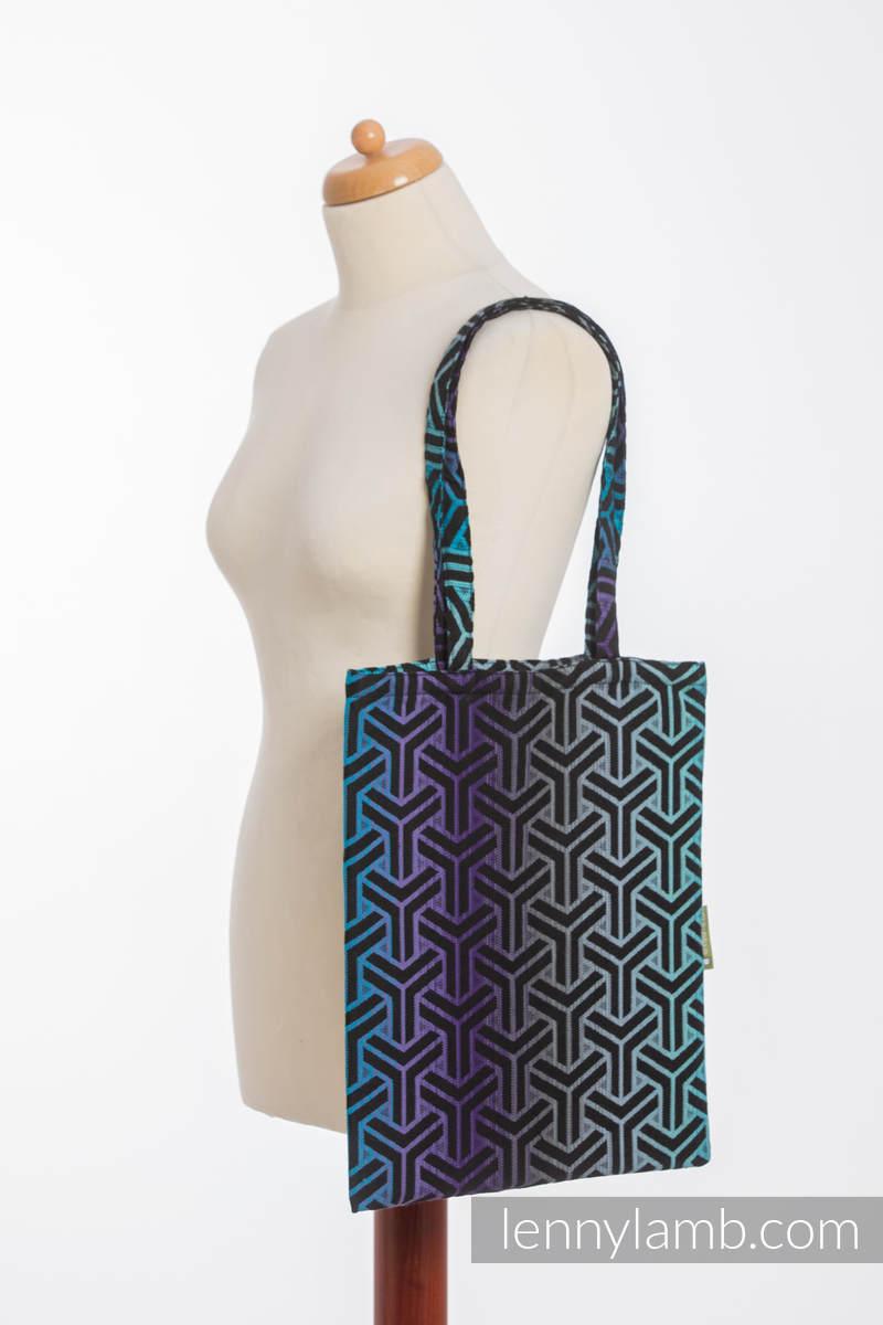 einkaufstasche hergestellt aus gewebtem stoff 100 baumwolle trinity cosmos. Black Bedroom Furniture Sets. Home Design Ideas