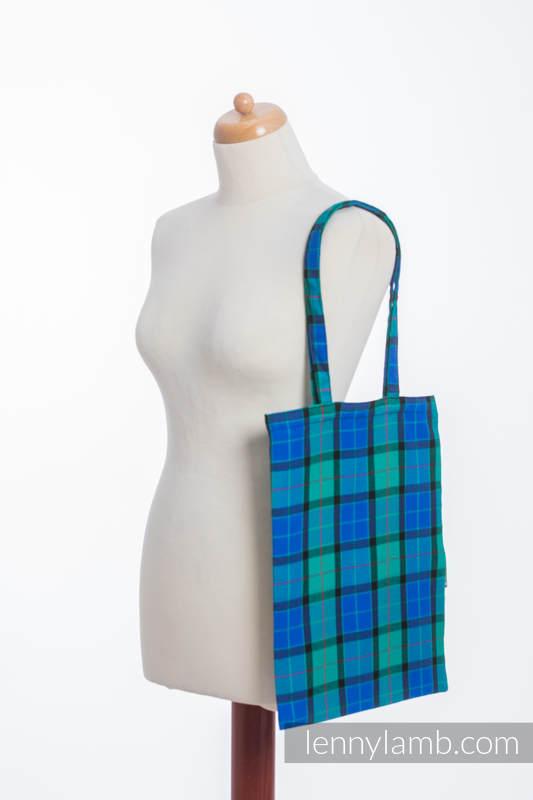 einkaufstaschen aus gewebtem stoff 100 baumwolle countryside plaid. Black Bedroom Furniture Sets. Home Design Ideas