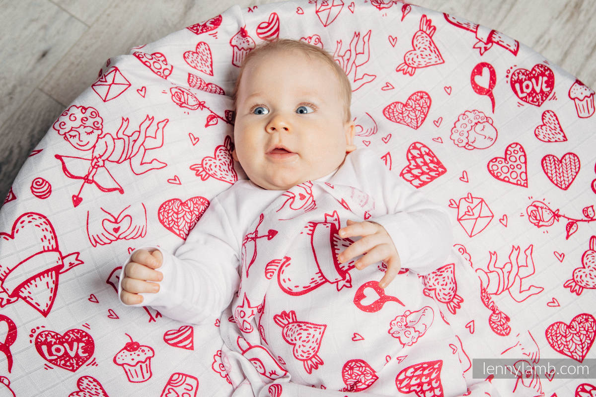 Mulldecken Set - SWEET NOTHINGS, GLAMOROUS LACE #babywearing