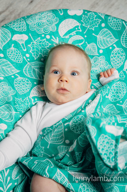 Mulldecke - UNDER THE LEAVES #babywearing